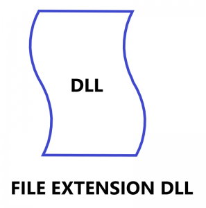 file extension dll